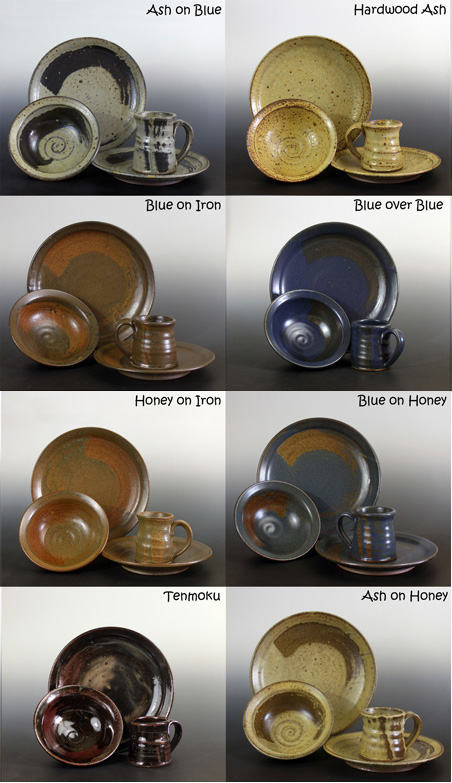 Benjamin Krikava, Pottery, ceramics, Uptown Clay, Stoneware, made to order pottery, custom made pottery,