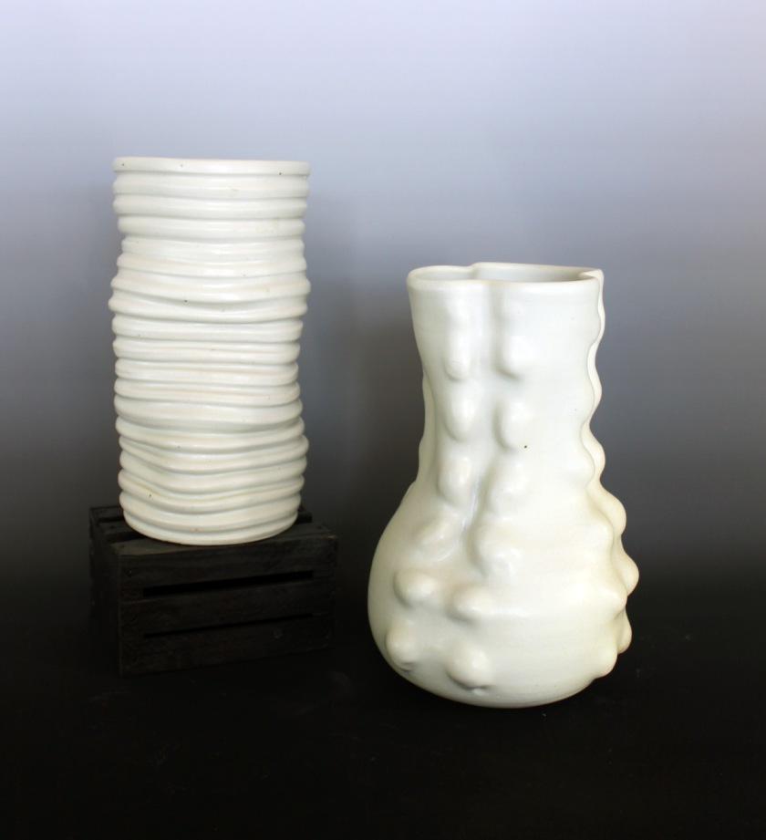 Brynne Macosko Paguyo, Porcelain vases, 2013