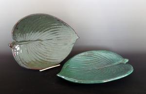 Jon Loer, earthenware plates, 2013