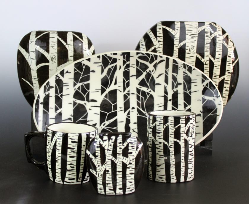 Jon Loer, Uptown Clay, Earthenware, pottery, ceramics, shop local