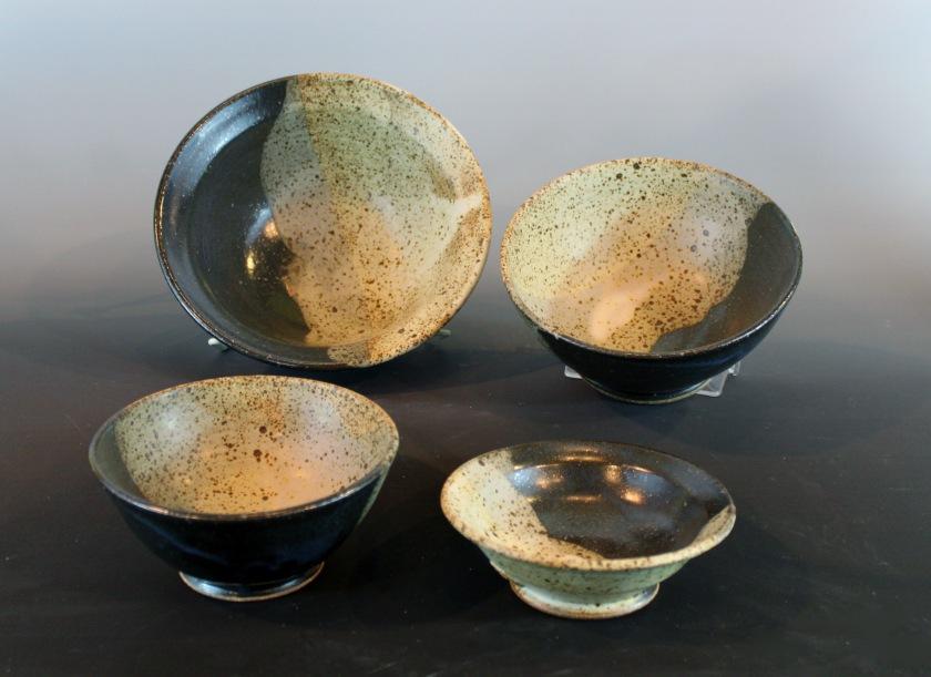 Sheryl Grassie, Stoneware bowls, 2013
