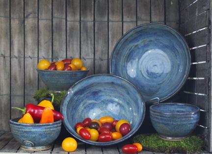 Sheryl Grassie, stoneware, pottery, ceramics, Uptown Clay
