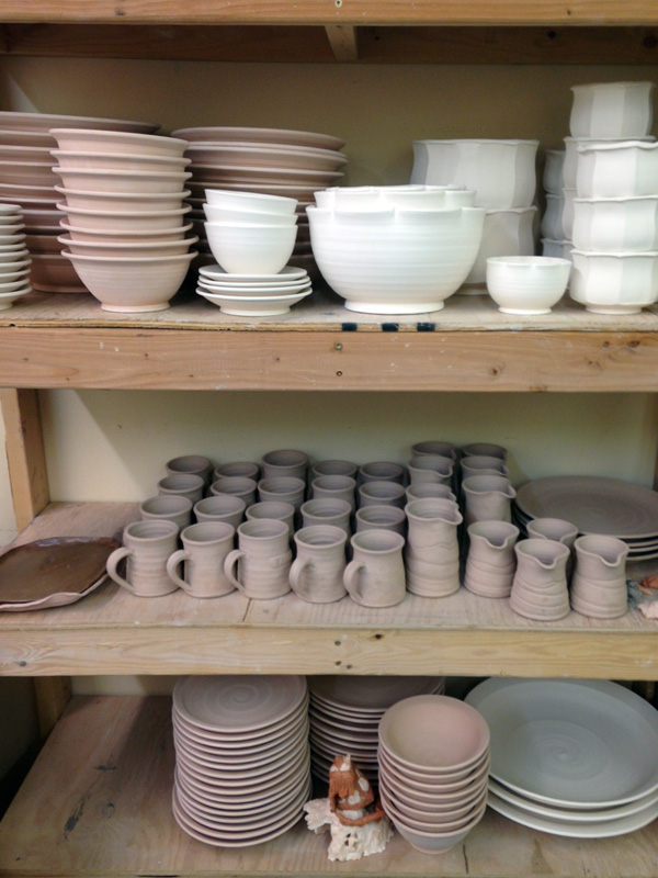Pottery, stoneware, shop local, mugs; ceramics, Benjamin Krikava