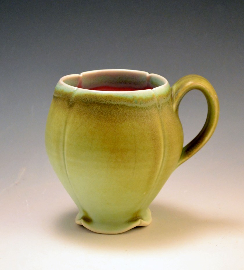 Dane Hodges, 2012, porcelain fired in oxidation