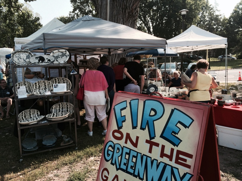 Powderhorn art Fair, Pottery, ceramics,