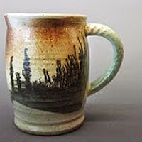 Mochaware, Karla Nagy, stoneware ceramics, mug, shop local
