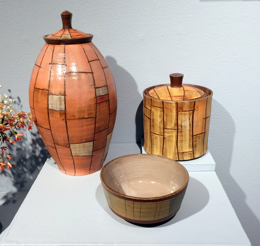 Ryan Archibald, stoneware, soda fired, pottery