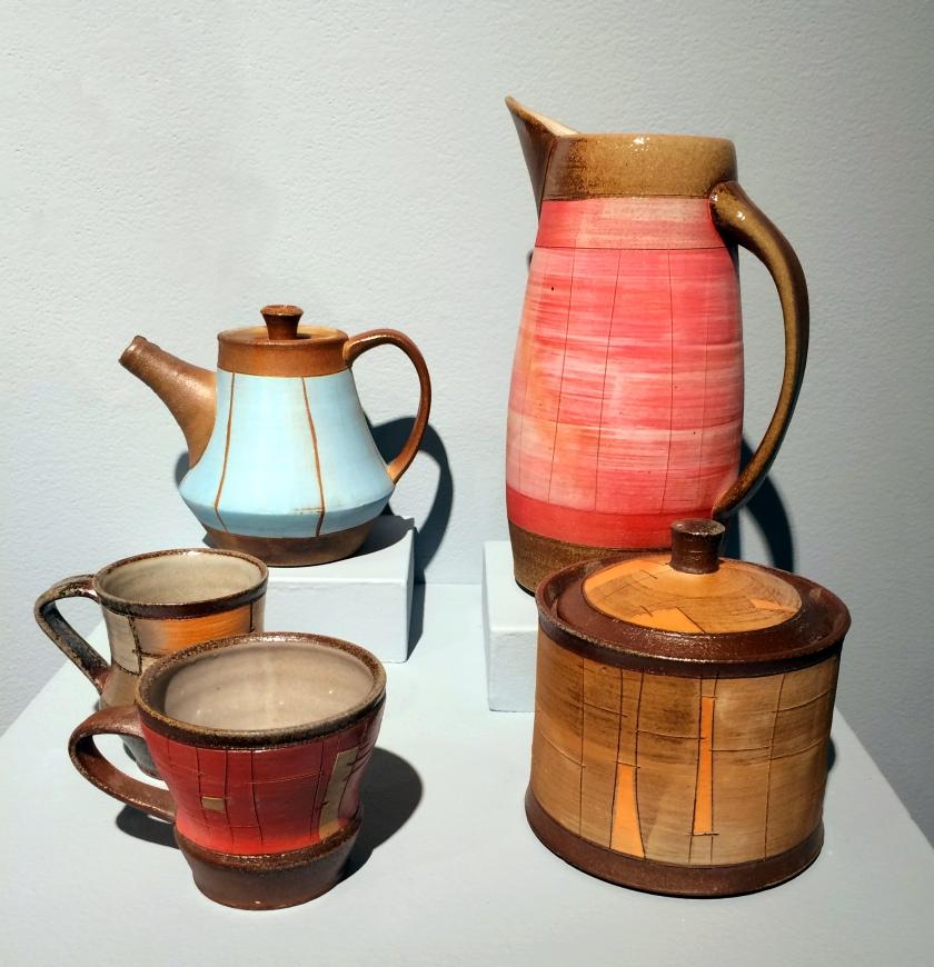 Ryan Archibald, soda fired, stoneware, mid-range, pottery
