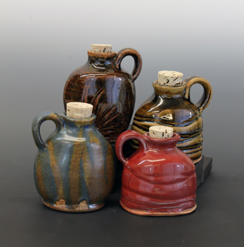 Stoneware, Benjamin Krikava, jugs, shop local, pottery