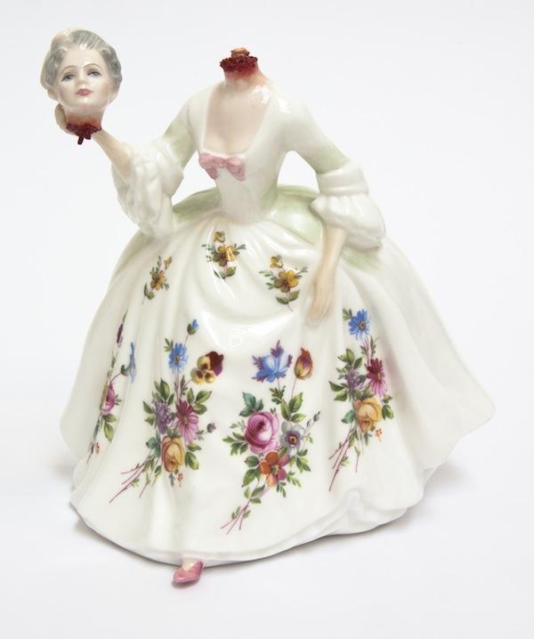 Jessica Harrison, porcelain art, shop local, uptown clay