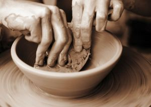 Uptown Clay, Pottery, ceramics, shop Local, Empty Bowls,