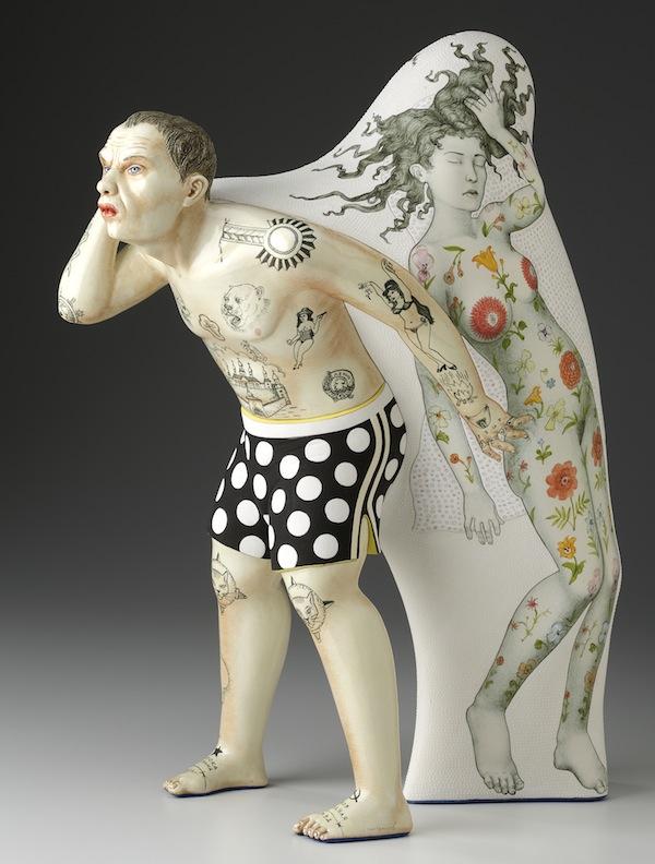 Sergei Isupov, porcelain