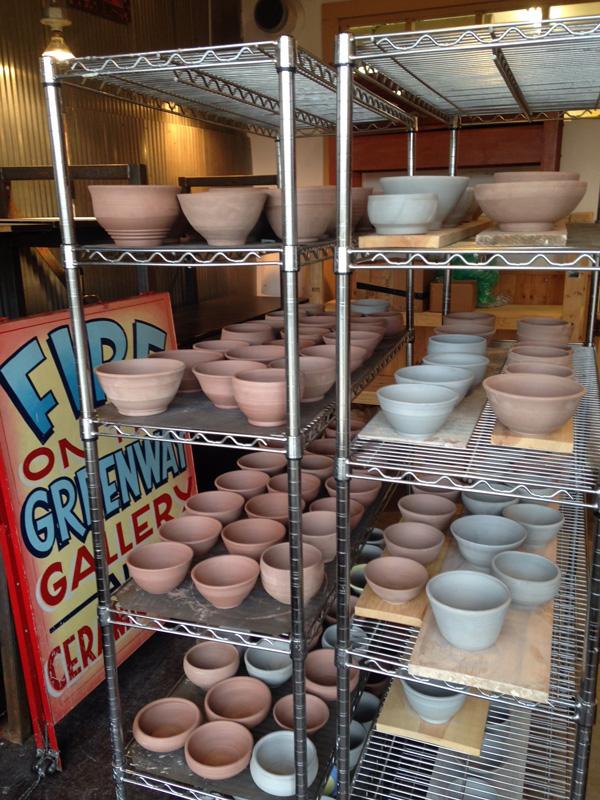 Uptown Clay, Pottery, ceramics, Empty bowls