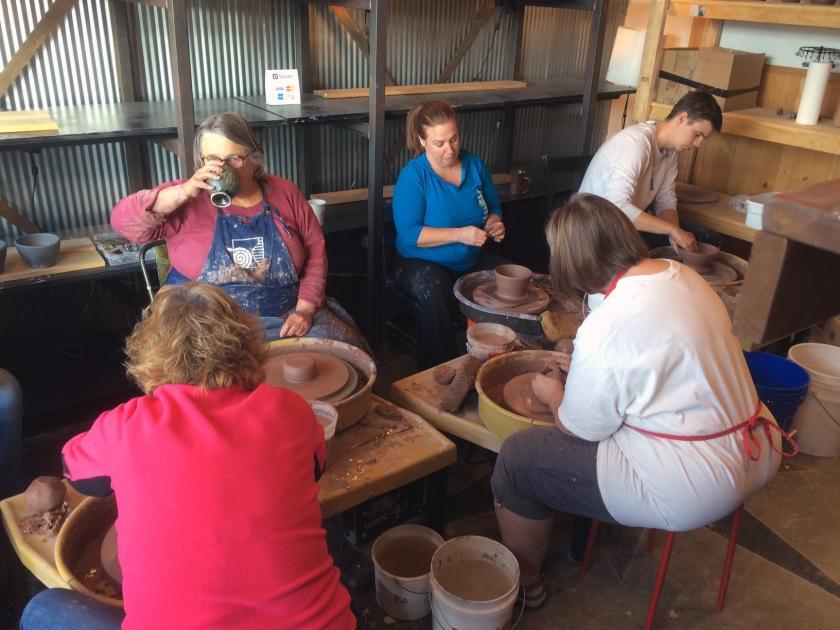 Uptown Clay, Ceramics, pottery, wheel throwing, stoneware,