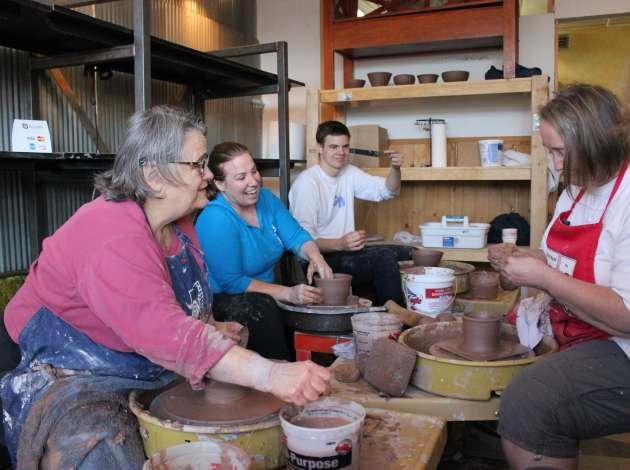 Empty Bowls, Uptwon Clay, Pottery, Ceramics