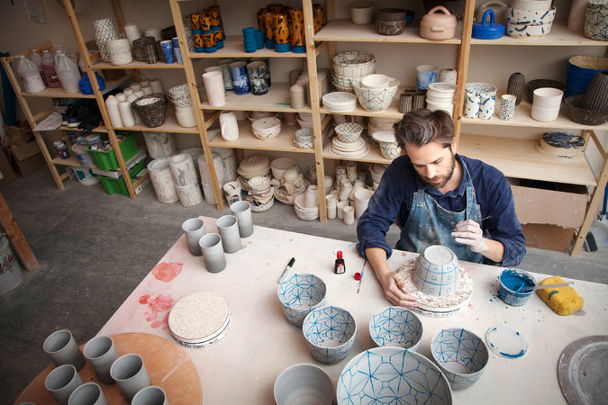 Pottery, ceramics, shop local, porcelain, Uptown Clay