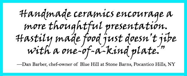Quote about handmade pottery