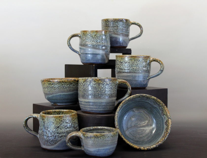 Melissa Favero, Stoneware, pottery, shop local, Uptown Clay,
