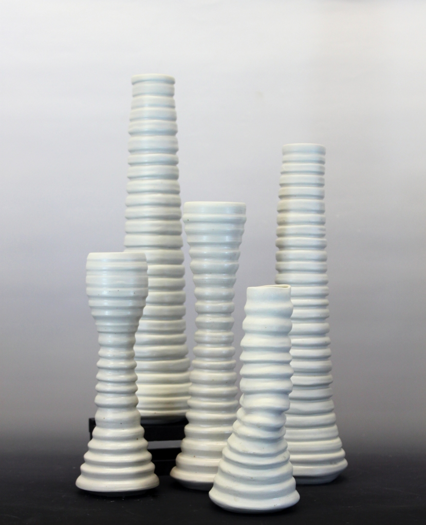 Brynne Macosko Paguyo, Porcelain, vase, modern cermaics, Shop Local, hand crafted, wheel thrown