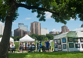 Loring Park Arts Festival, shop local,